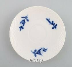 4 sets Royal Copenhagen Blue flower braided, espresso cup and saucer