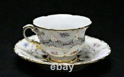 Beautiful Meissen Strewn Flowers Cup And Saucer