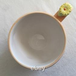 Disney Tigger Piglet 2 Tea Cups with Flower Saucers