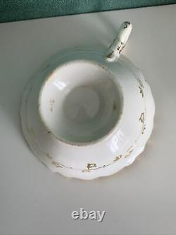 Exquisite Coalport Adelaide Cup And Saucer, Excellent Condition