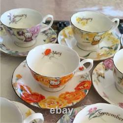 Hello Kitty Cup Saucer 12 Mth Flower