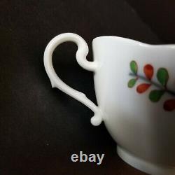Meissen Tischchenmuster Quatrefoil Cup and Saucer Indische Blumen Little Table