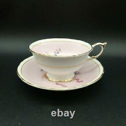 Paragon Flower Bouquet Mother Cabbage Rose Tea Cup & Saucer Set Dbl Warrant Cs95