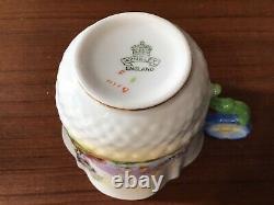 Rare Venetian Lady Flower Handle Aynsley Tea cup