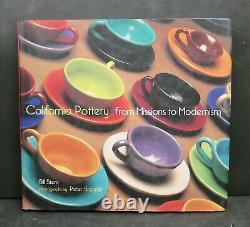 Rare Vernon Kilns Harry Bird Pottery Trumpet Flower Cup/Saucer Bill Stern Estate