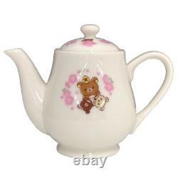 Rilakkuma SAKURA Teapot & Cup & Saucer Set Cherry blossom Coffee cup Japan