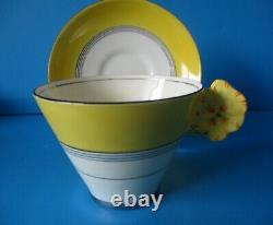 Royal Paragon Flower Handle Cabinet Cup & Saucer See Condition