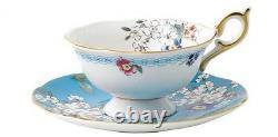 Wedgwood Wonderlust Apple Blossom Tea Cup & Saucer Gift Boxed